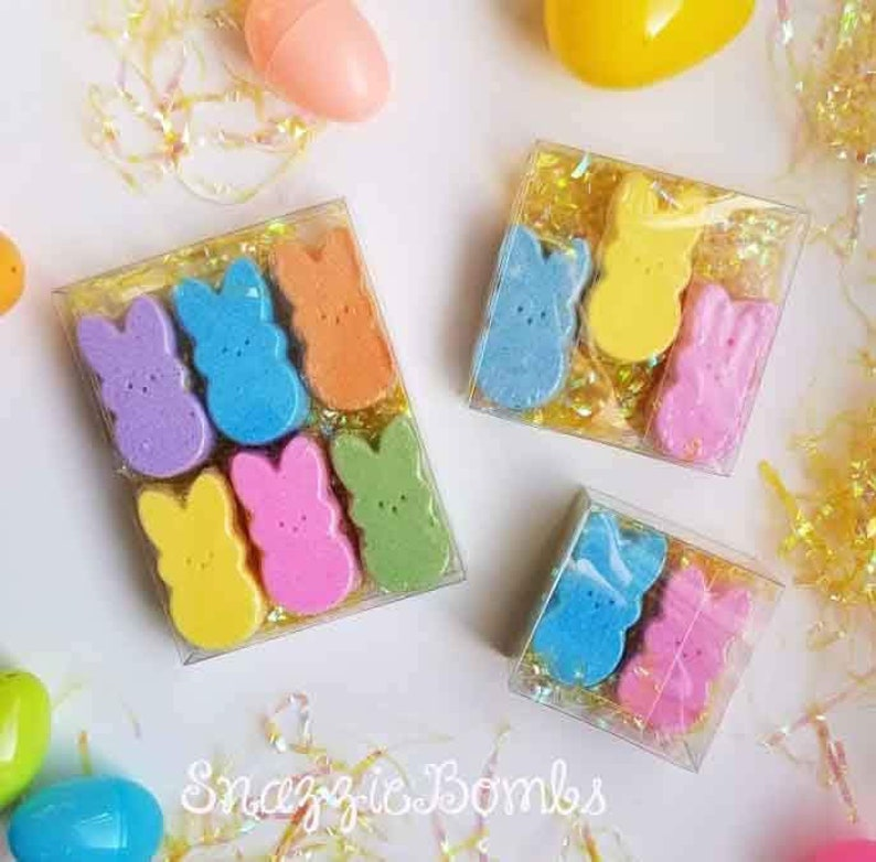 Bunny Bath Bombs Easter Bath Bombs Easter basket stuffers image 0