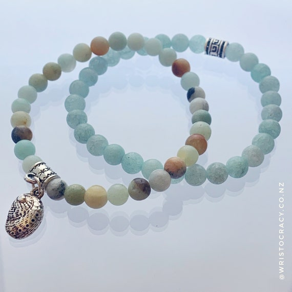 Wristocracy - Polished Amazonite (set of 2)