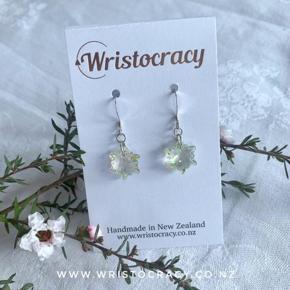 Swarovski Earrings - Edelweiss