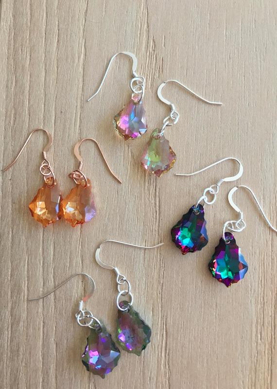 Swarovski Earrings - NEW COLOURS ADDED