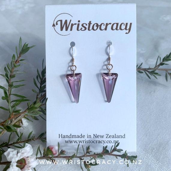 Swarovski Earrings - Crystal Spike