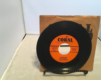 Hold My Hand & I'm Blessed by Don Cornell on Vinyl 45