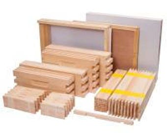 8 or 10 Frame Hive Kit w/ Screened Bottom Board UN-ASSEMBLED- FREE shipping lower 48 states