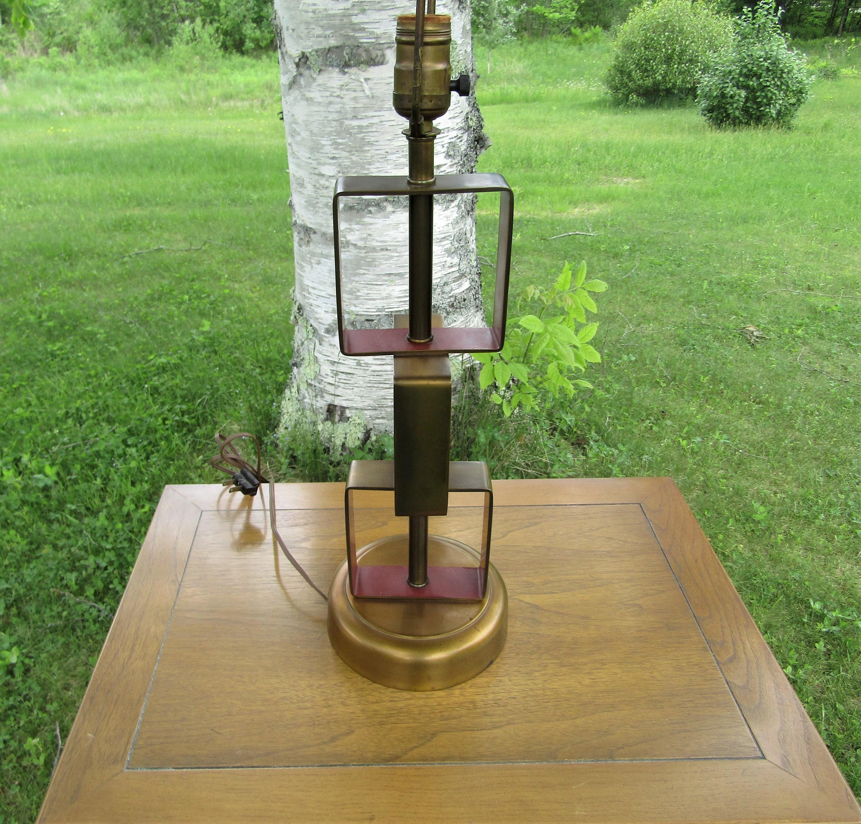 Lampada Da Tavolo Art Deco Mid Century