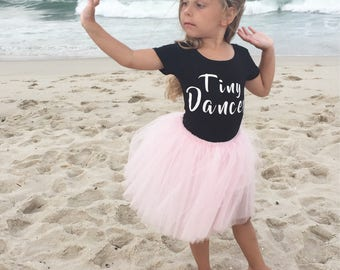 Tiny dancer/leotard/black/dance/kids/girls/donut/black