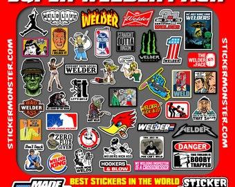 Welding Stickers Etsy