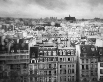 Paris, small rain - Photo, fine art print