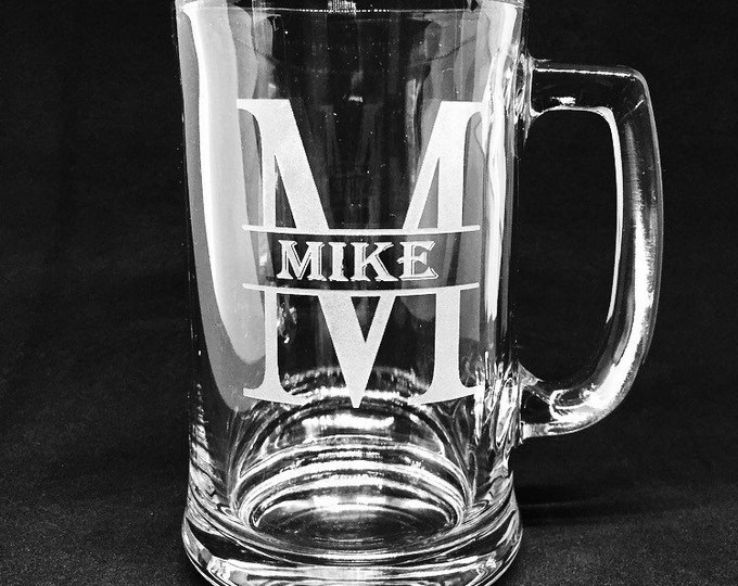 Personalized 15oz. Tankard Mug • FREE SHIPPING