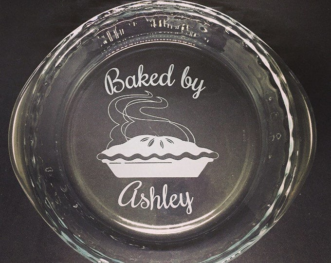 Personalized Pie Dish • FREE SHIPPING