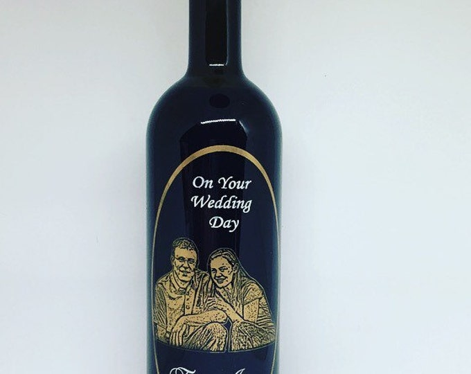 Customized Wine Bottle • FREE SHIPPING