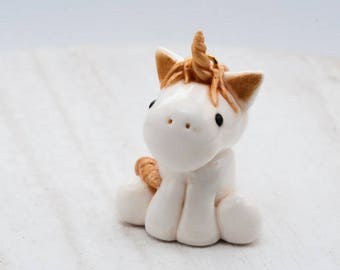 White and gold unicorn|Unicorn necklace|christmas gift|xmas gift for her|Unicorn gift for her|Unicorn jewelry