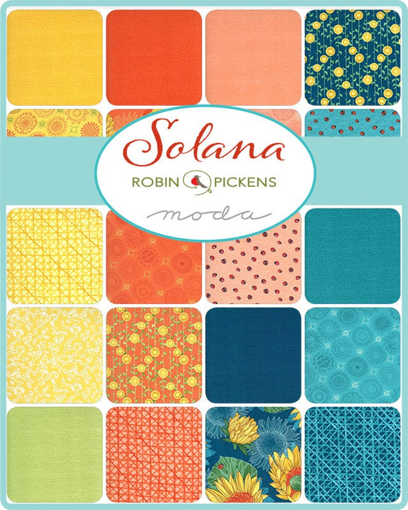 Varietals 48682.13 by Robin Pickens, Solana color Buttercup 12 yard continuous cuts