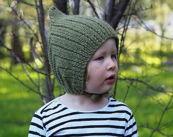 Gumnut Hat Knitting Pattern
