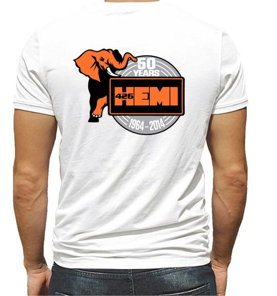 DODGE 50 YEARS 426 HEMI MOPAR T-SHIRT