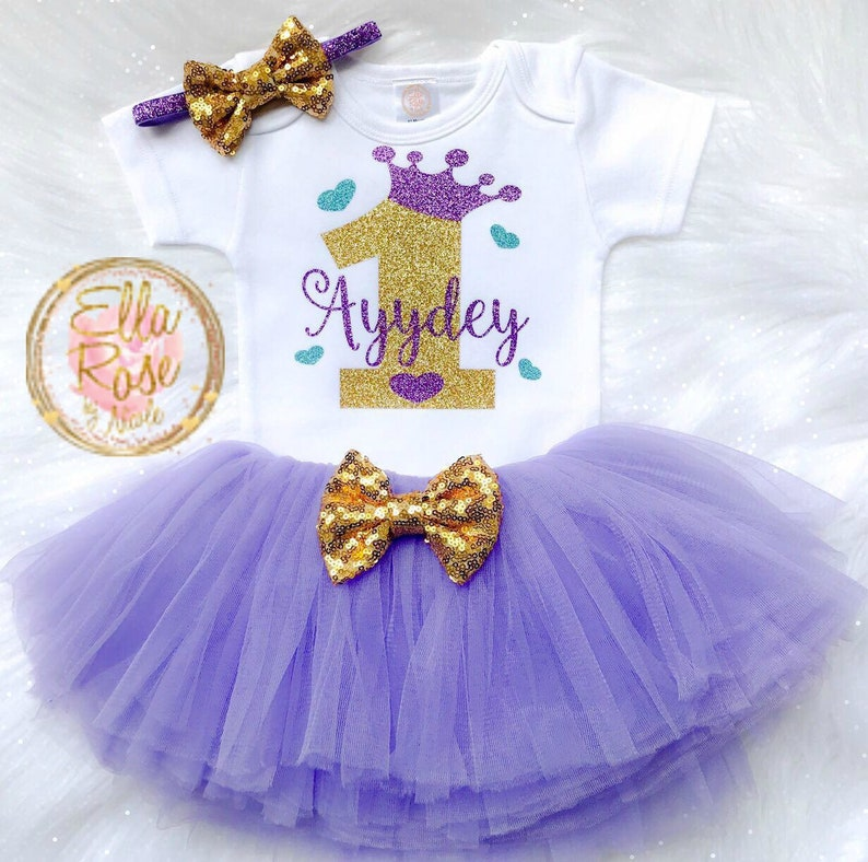 63c6846fd My 1st Birthday Outfit Girl / Baby Girl First Birthday Outfit | Etsy