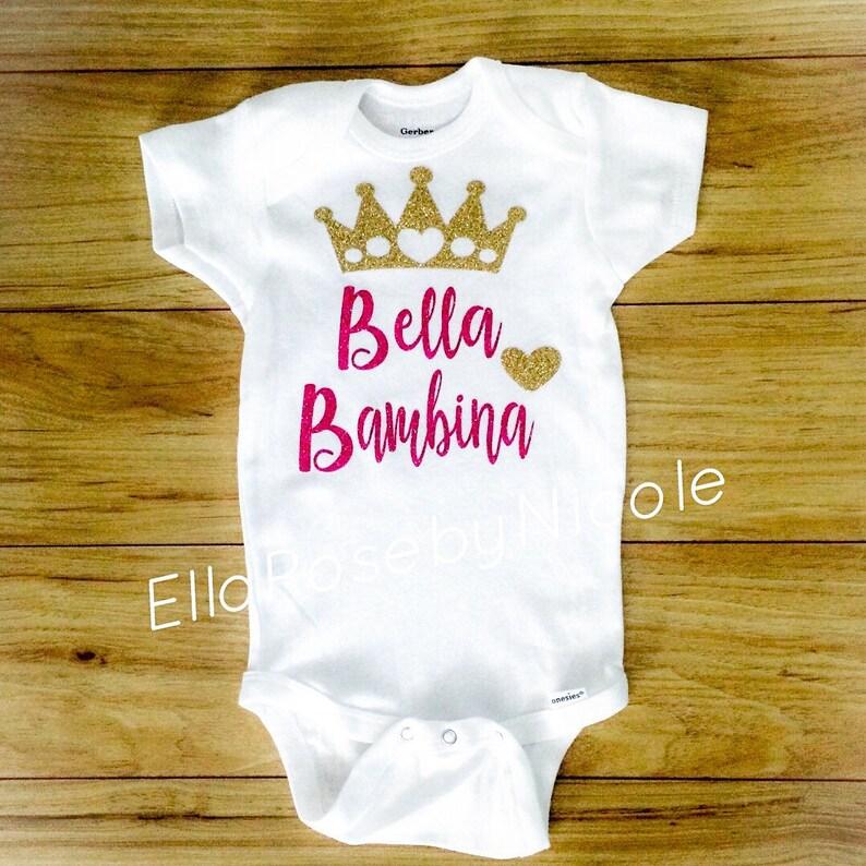 0ad817cc1147 Bambina   Bella Bambina   Italian Baby Girl Outfit  Beautiful