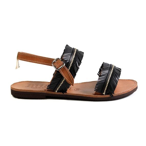 Boho Sandals Alexandros Leather Sandals Wedding Sandals Handmade Greek Sandals Black Sandals Gift Bridsmaid Sandals Summer Sandals