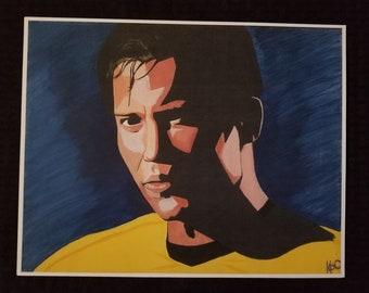 Captain James T. Kirk Print