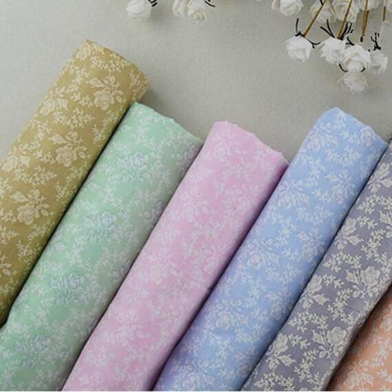 Pastorale Rose série 6 pcs coton vêtements pour bricolage bricolage pour Patchwork couture literie nappe textile tissu 40 * 50cm d6d3c5