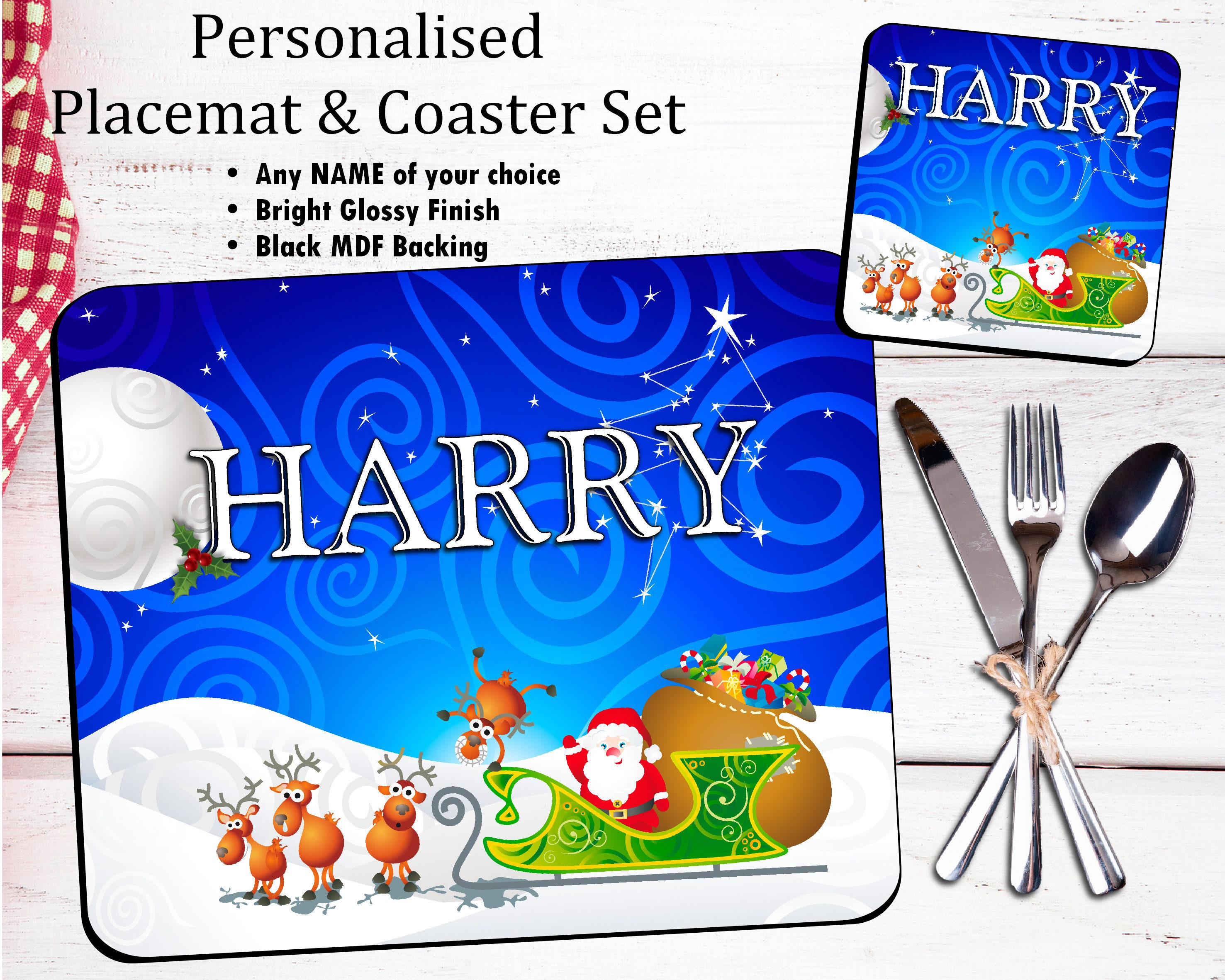 10 Personalised Xmas Christmas Gift presents Thank You Thankyou PHOTO Cards N45