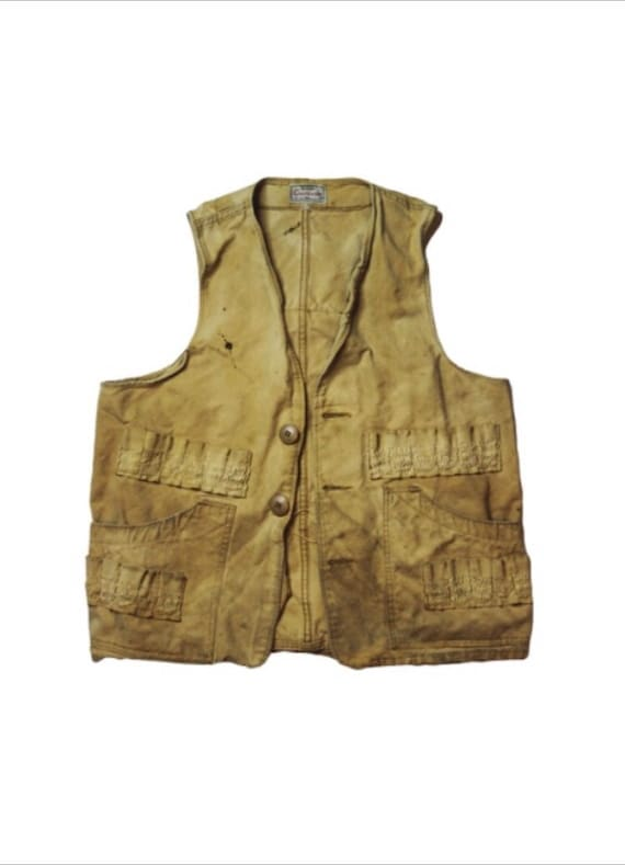 1960's Sears Active Sportswear Hunting Vest