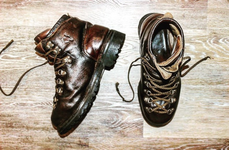 Retro Vasque Boots Hiking Mountaineer Work Boots | Etsy