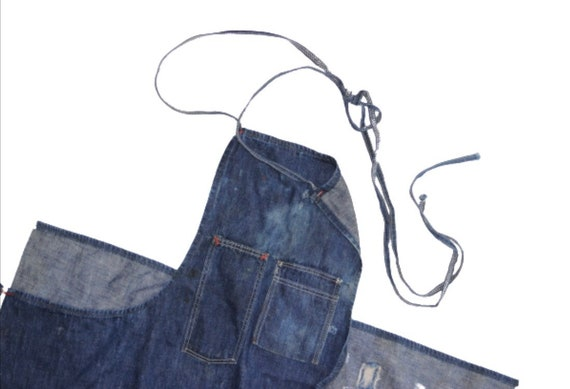 1940's Selvedge Denim Work Apron