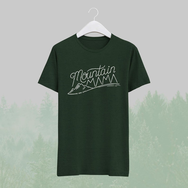 0c907db7 Mountain Mama Tshirt Outdoor Lover Gift Explorer Gift | Etsy
