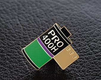 Jim Clift Design Roll of Film Lapel Pin