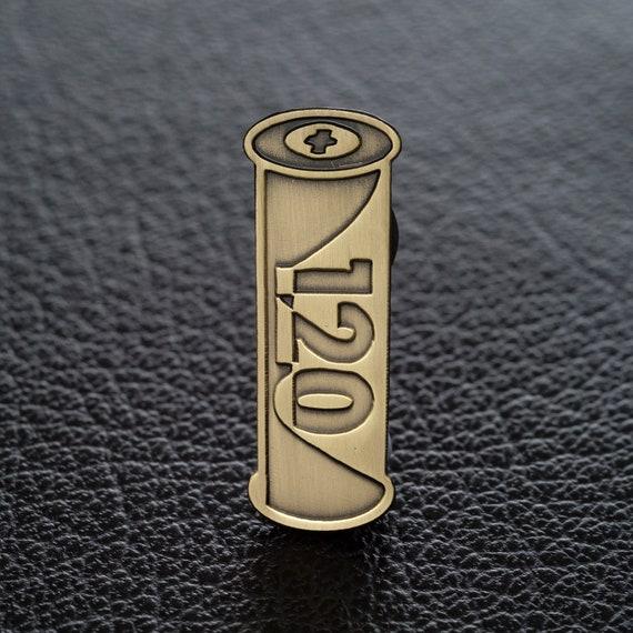 Kodak Gold Film ~ Enamel Pin Badge ~ Top Quality /& Really Lovely!