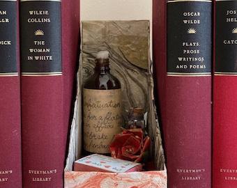Infatuation Love Spells Origami Book Nook Shelf Insert