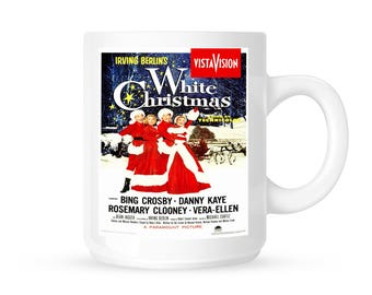 WHITE CHRISTMAS MOVIE Poster Ceramic Mug