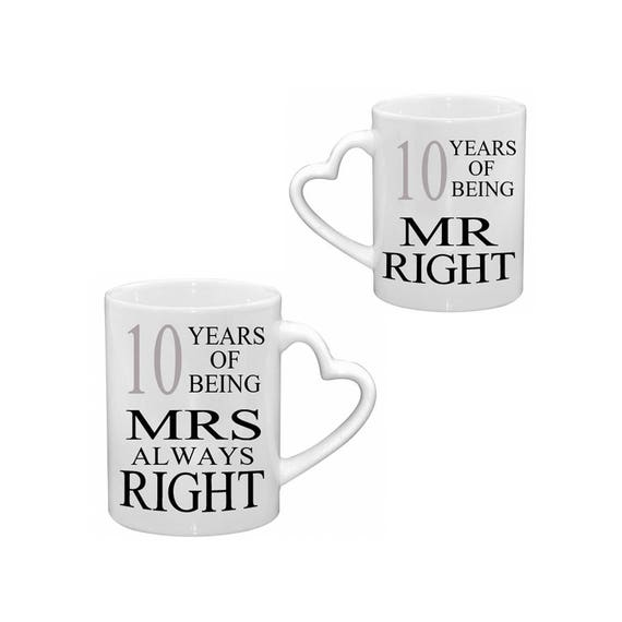 Mr Right & Mrs Always Mugs