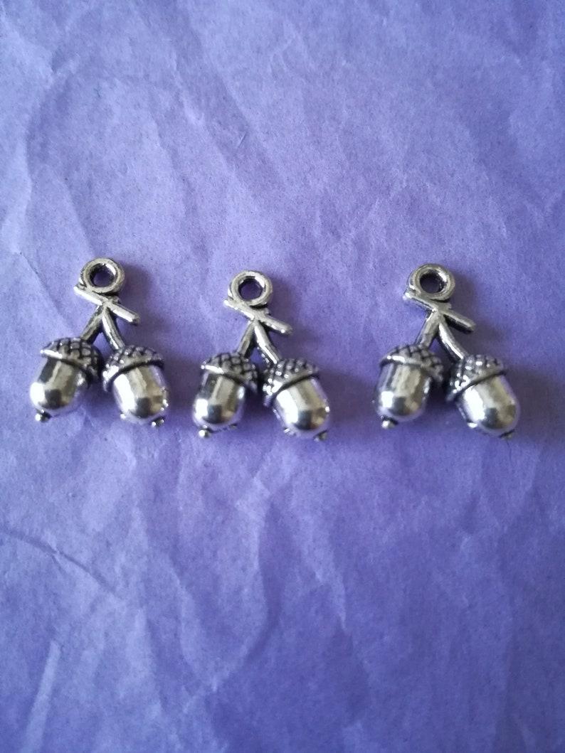 Silver Bird Skull Tibetan Charm Findings//Jewellerymaking//Craft//Steampunk