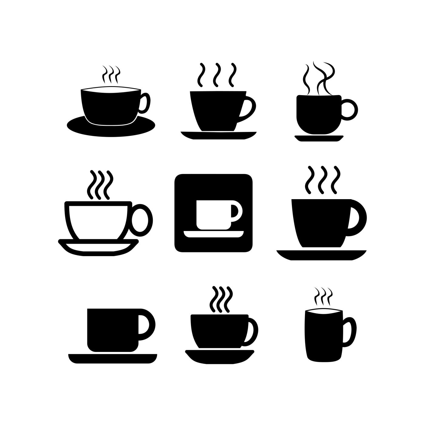 Download Coffee mug cup Svg Cut files for Cricut Silhouette cameo ...