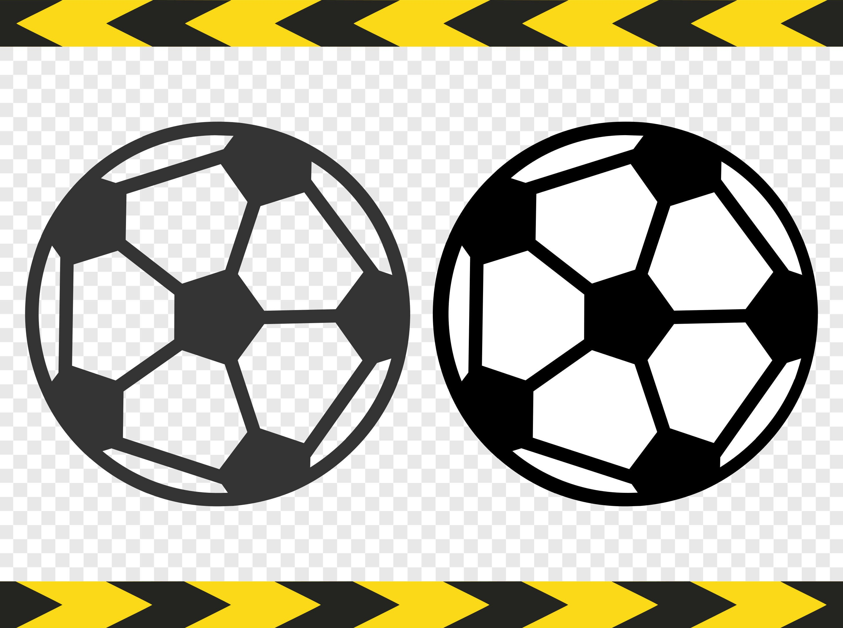 Fútbol Fútbol SVG pelota calcomanía corte archivos de Cricut   Etsy