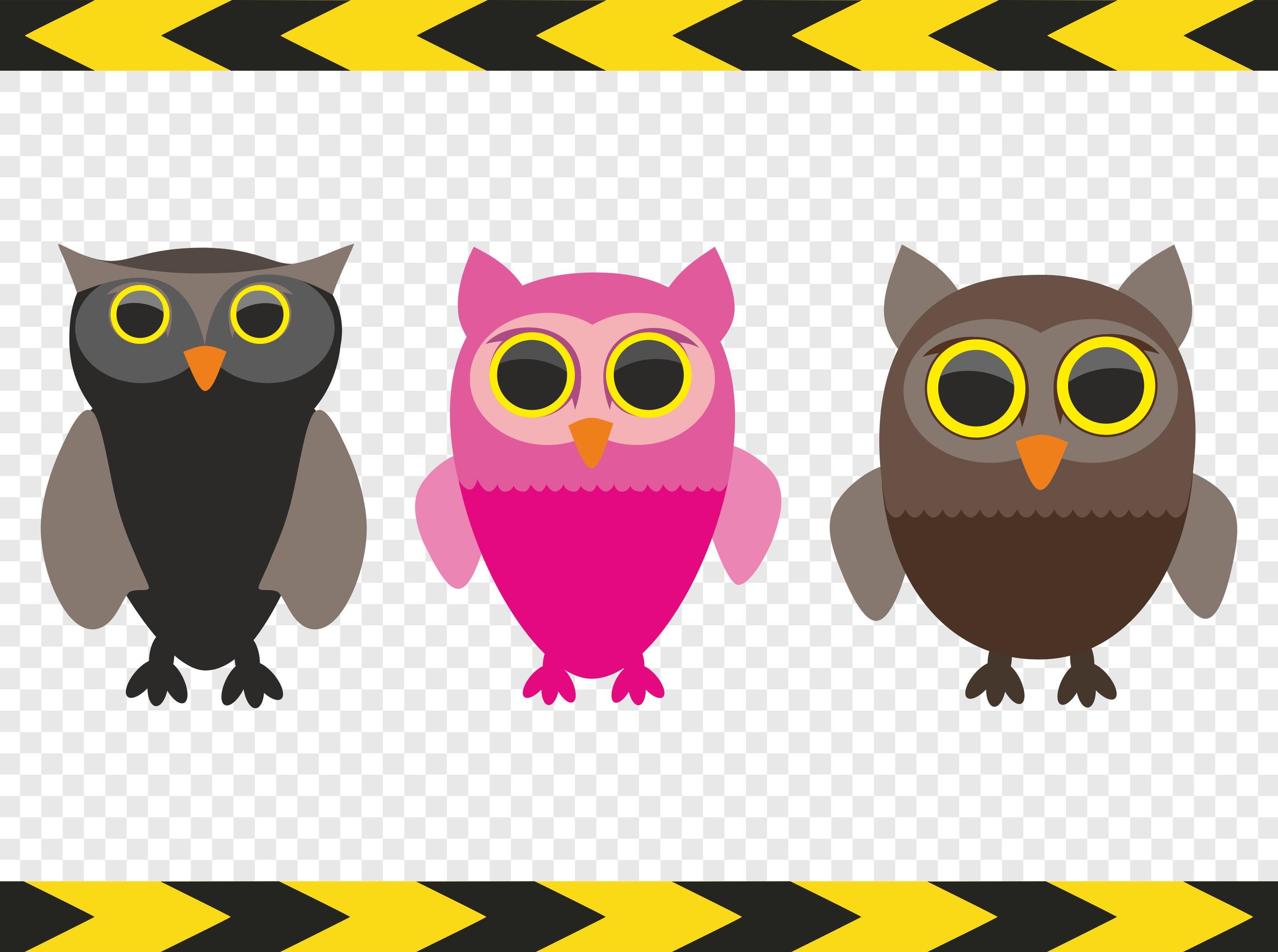 Owl SVG Clip art Clipart DIY Nursery Decal Sticker ...