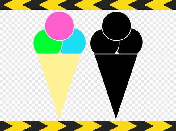 ice cream cone svg clipart clip art cut files for silhouette etsy rh etsy com etsy clip art floral etsy clipart of african american king