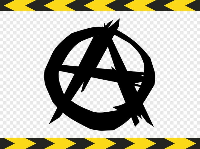 Anarchy Symbol Svg Diy Shirt Decal Sticker Flag Dxf Pdf Png Etsy