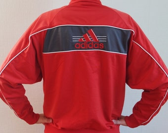 03f5b04c8f8ac ADIDAS Vintage Adidas rosa Sport giacca rosa Adidas Vintage | Etsy
