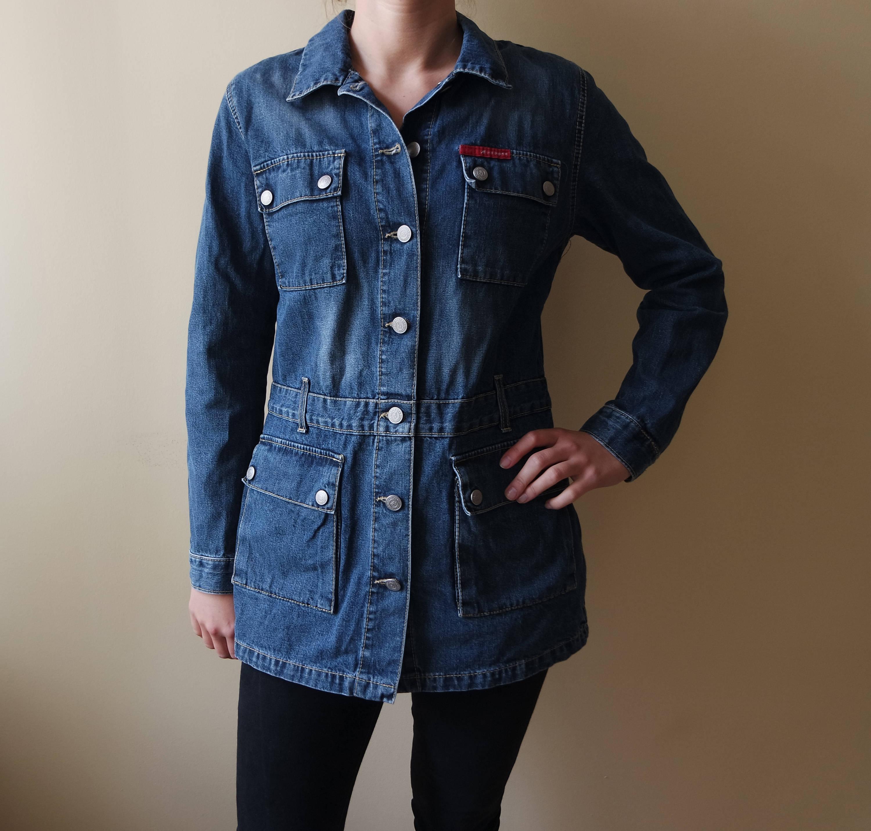 Etsy Lee En 80 Veste 90 Cooper Bleu Vintage Années Jean n0qZwz05I