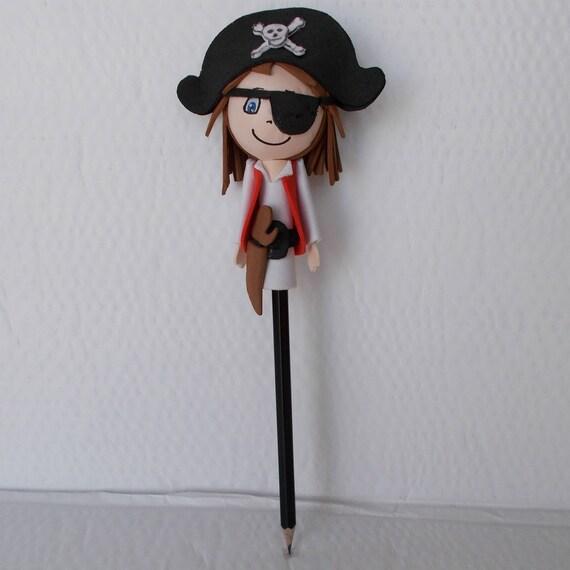 Pirate Embout De Crayon Poupee Fofuchas