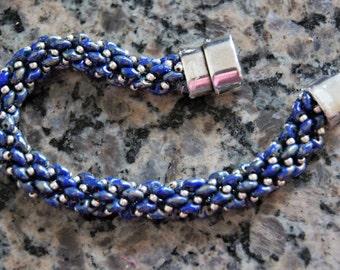 Super duo beaded bracelet