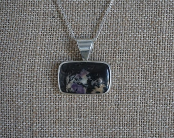 Tiffany Stone sterling silver pendant