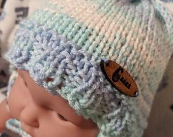 bonnet bébé,chapeau bébé,tuque bébé,tricot,tricoté main,nouveau né,cadeau  naissance,vegan f8eeb832d16