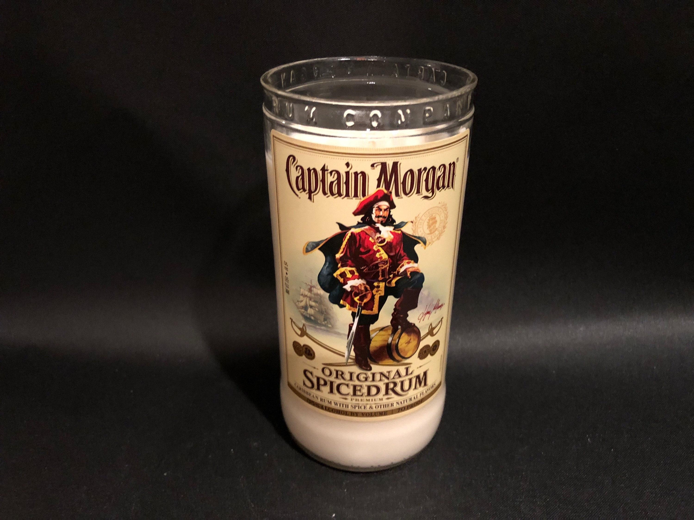 """Captain Morgan Rum 24/"""" Round Aluminum Sign New in Box"""