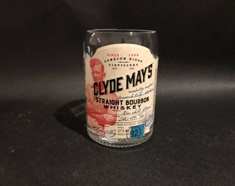 375ML Clyde Mays Candle Straight Bourbon Whiskey Alabama Whiskey Bottle Soy Candle. Made To Order 375ML vs 750ML