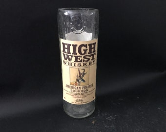 High West Candle/High West American Prairie Whiskey Bottle Candle 375ML vs 750ML Soy Candle.