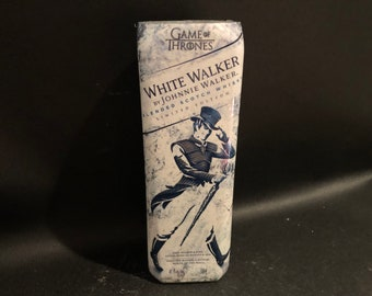 Johnnie Walker Candle/Game of Thrones Fan Johnnie Walker White Walker Candle/Johnnie Walker Scotch Gift/WHISKEY BOTTLE Candle/Johnny Walker