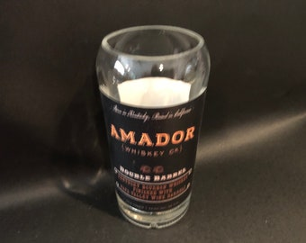 Amador Candle/Amador Bourbon Whiskey Bottle Soy Candle 750ML. Made To Order/Amador Gift/Amador Bourbon Candle